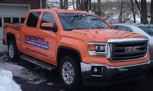 Water and Mold Removal Vehicles
